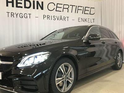 begagnad Mercedes C200 D DEMO AMG-LINE PREMIUMPAKET PLUS