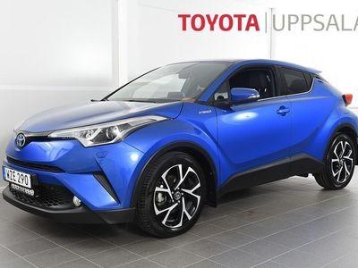 begagnad Toyota C-HR 1,8 Elhybrid X-edition Skinn JBL V-hjul M&K