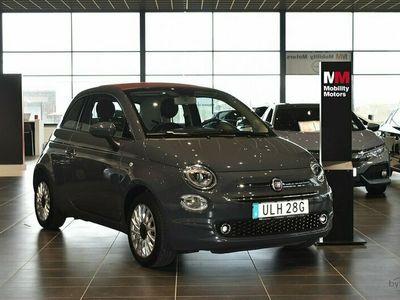 begagnad Fiat 500 1.2 Euro 6 Cabriolet 69hk