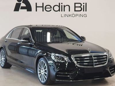 begagnad Mercedes S400 D 4MATIC SEDAN AMG Parkeringsvärmare Distronic Minnespaket Keyless-GO