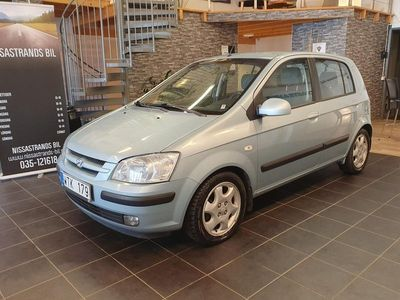 begagnad Hyundai Getz 5-dörrar 1.6 105hk ( 0 Ränta 36 Mån )