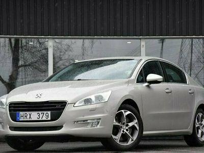 begagnad Peugeot 508 2.2 HDi GT-Line Keyless Automat Pano 2012, Sedan Pris 69 700 kr