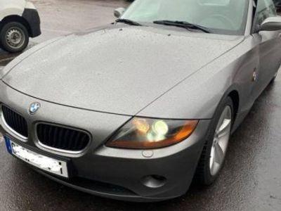begagnad BMW Z4 Låg mil nybesiktad välvårdad -04