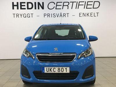 begagnad Peugeot 108 Peugeot 108 5-dörrar 1.0 VTi ETG5, 68hk, 2016