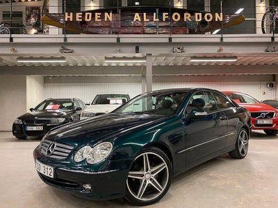 begagnad Mercedes CLK200 Kompressor Coupé Auto