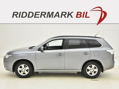 brugt Mitsubishi Outlander 2.0 PHEV 4WD 121hk SKINN NAVI DRAG