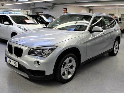 begagnad BMW X1 xDrive20d 184hk / LÅGMIL / KROK