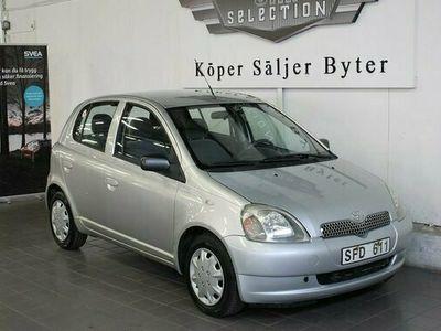 begagnad Toyota Yaris Verso Yaris 5-dörrar 1.3 VVT-i KAMKEDJA 2001, Kombi Pris 12 900 kr