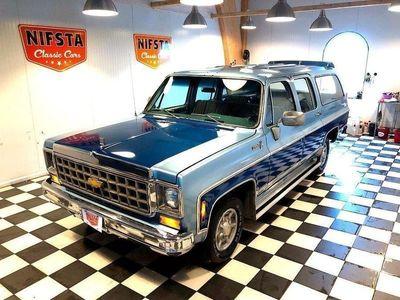 begagnad Chevrolet Suburban 9 sitsig