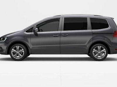 begagnad Seat Alhambra TSI 150 DSG6 Style/Drag/P-värmare/Nav/ Spara 68600kr