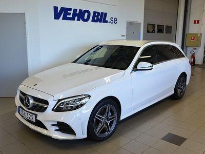 begagnad Mercedes C220 d AMG, Burmester, Dragkrok
