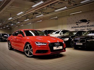 begagnad Audi A7 3.0 TDI 218HK S-Line 5000MIL SVENSK SE SPEC