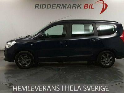 begagnad Dacia Lodgy 1.5 dCi 7-sits 107hk Navigator Ny K-Rem Nyservad