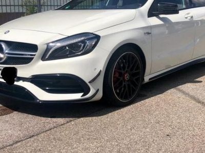 begagnad Mercedes A45 AMG Fullutrustad 1 Ägare