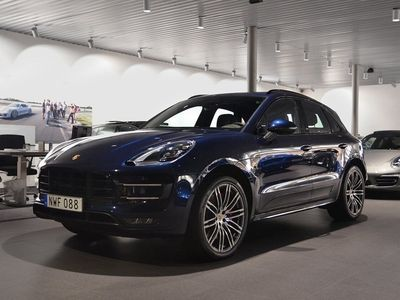 begagnad Porsche Macan Turbo Performance Package 2017, SUV 745 000 kr