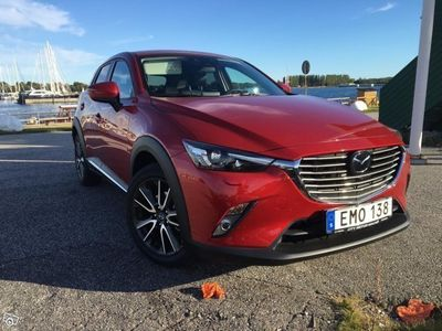 begagnad Mazda CX-3 Optimum Automat -16
