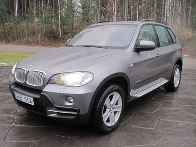 begagnad BMW X5 3.0SD 7-sitsig (nyservad)