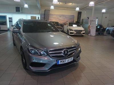 begagnad Mercedes E350 CDI BlueTec 4Matic / AMG line / Dieselvärmare