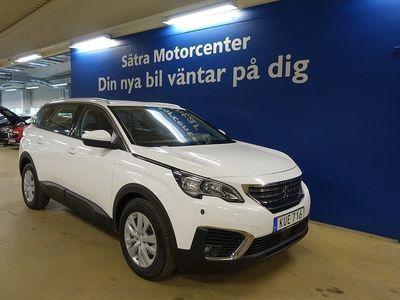 begagnad Peugeot 5008 Active 1.2 PureTech EAT Euro 6 7-sits 130hk