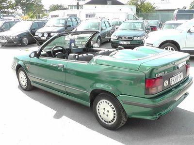 begagnad Renault 19 Cabriolet Karmann Toppskick -92