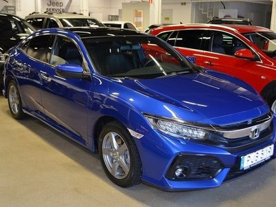 begagnad Honda Civic 1.5 182HK Prestige Backkamera Navigation Skinn
