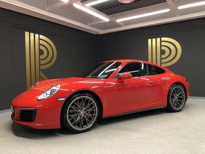 begagnad Porsche 911 Carrera 4S 991 (420hk) PDK / Spor -17