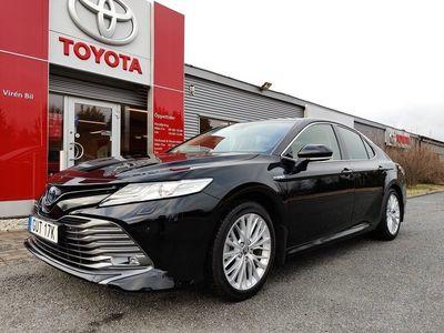 begagnad Toyota Camry Hybrid Elhybrid Executive Premium
