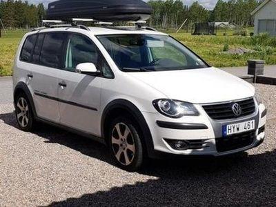 begagnad VW Touran Cross 1,4 TSI 7sits