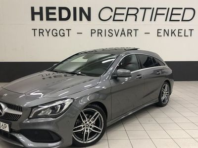 begagnad Mercedes CLA180 Shooting Brake AMG Panorama Drag -19