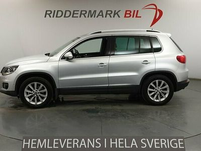 begagnad VW Tiguan 1.4 TSI 4Motion Dragkrok Backkamera 160hk