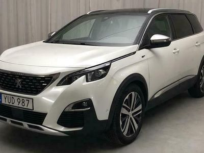 begagnad Peugeot 5008 2.0 BlueHDi 2018, SUV Pris 230 000 kr