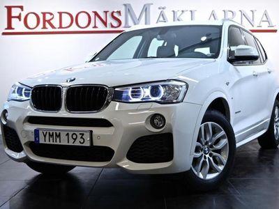 begagnad BMW X3 20D xDrive AUT M-SPORT REA-RACE
