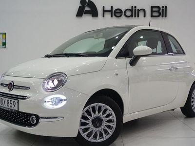 begagnad Fiat 500 LOUNGE 1,2 L 69 HK * NYSERVAD* LÅG SKATT! ENDAST 448/ ÅR