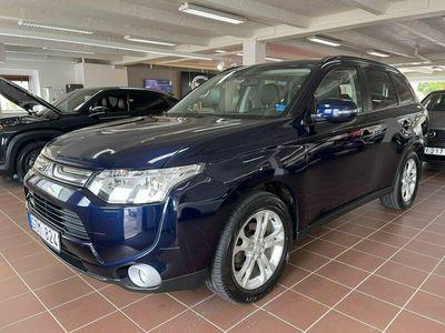 begagnad Mitsubishi Outlander 2.2 Di-D 4WD Autt 7-sits 150hk Business