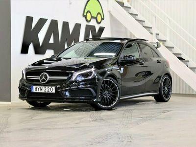 begagnad Mercedes A45 AMG A Benz  Skalstolar   H&K   Taklucka 2015, Halvkombi Pris 348 900 kr
