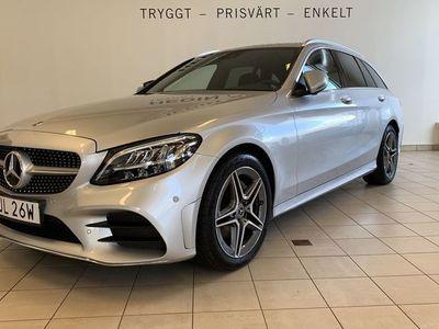 begagnad Mercedes 220 C-Klassd 4-Matic AMG, Drag, Navi