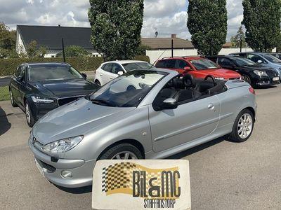 begagnad Peugeot 206 CC 1,6 109 hk
