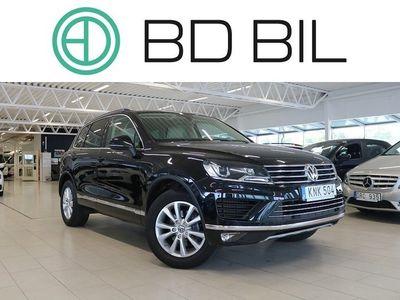 begagnad VW Touareg 3.0 V6 TDI 4M EU6 D-VÄRM 2015, SUV 229 800 kr