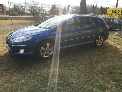 begagnad Peugeot 407 2,2 HDI SW NAVI (GPS)