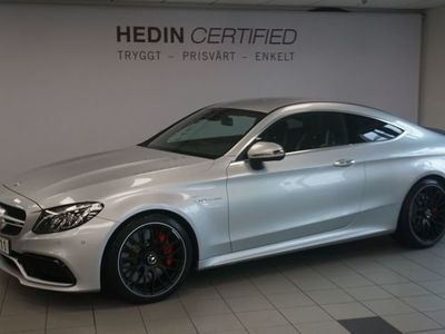 begagnad Mercedes C63S AMG 63 S // KEYLESS-GO // AMG PERFORMANCE RATT