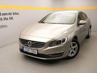begagnad Volvo S60 D4 Momentum Business E, Dragkrokjöklass EURO6, VOC m fjärrstart parkvärm 2016, Sedan 229 900 kr