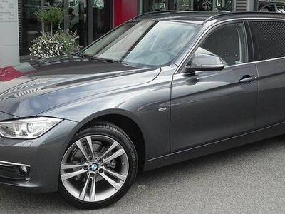 begagnad BMW 318 d AUT TOURING LUXURY LINE / LÅGA MIL -15