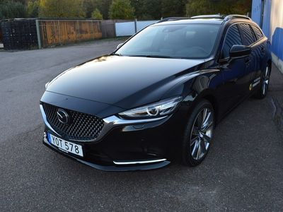 begagnad Mazda 6 Wagon 2.5 194hk 6aut Optimum Signature