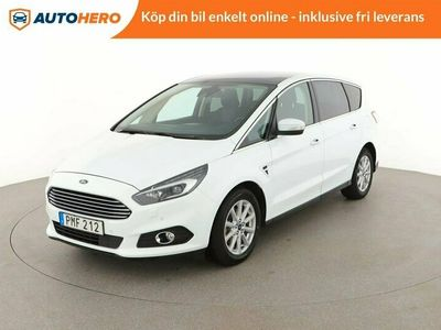 begagnad Ford S-MAX 2.0 TDCi Powershift 7-sits / Panorama, GPS, PDC