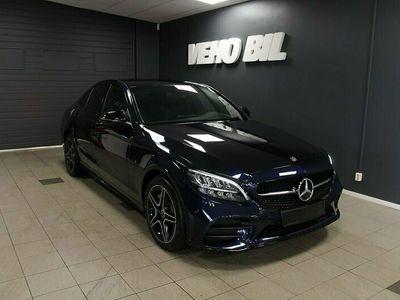 begagnad Mercedes C300 de Sedan AMG Dragkrok