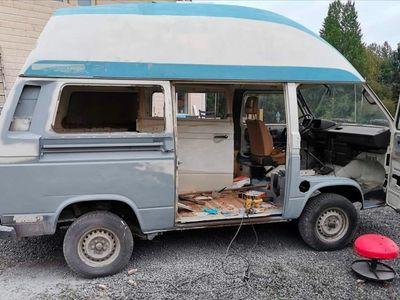 begagnad VW T3 husbil, 1.6td projekt