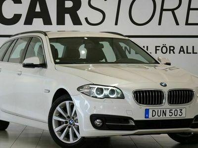 begagnad BMW 520 d xDrive Touring Drag M - Ratt Skinn
