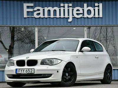 begagnad BMW 120 d 3dr, (177hk) Taklucka/Drag/Automat/Xenon