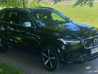 begagnad Volvo XC90 D4 R-Design, Välutrustad, keyless, B&W 2017, SUV Pris 319 900 kr