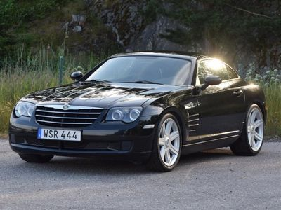 begagnad Chrysler Crossfire manuell svensksåld